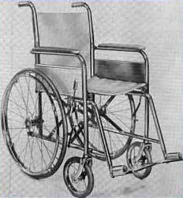 Everest and Jennings wheelchair 1