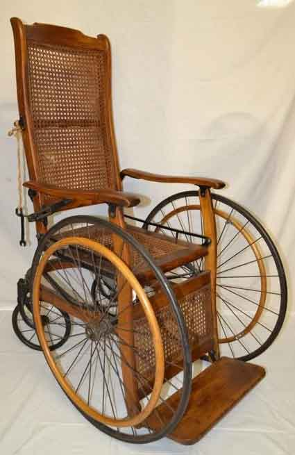 wired spoked wheels wheelchair
